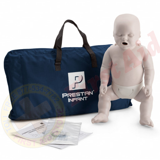 The Prestan™ Infant CPR Mannequin w/o Monitor - Light Skin