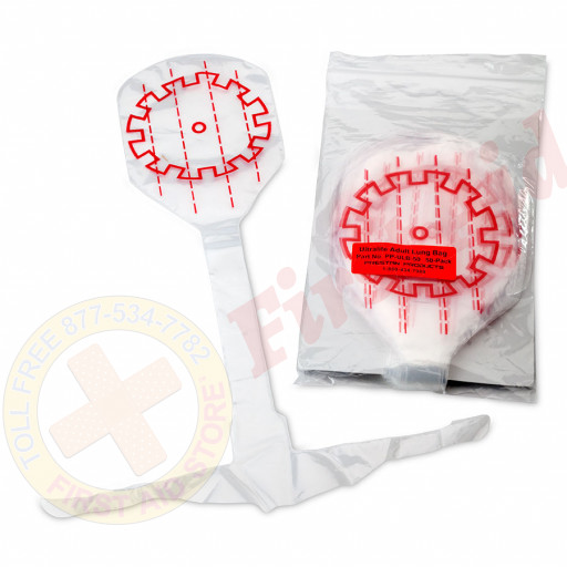 The Prestan™ Ultralite® Mannequins Lung Bags  - 50 Pack