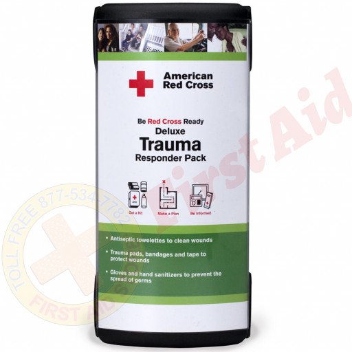 The American Red Cross Brand Deluxe Trauma Responder Pack - American Red Cross