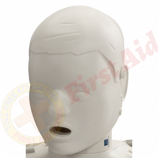 The Prestan™ Child Mannequin Head Assembly - Light Skin