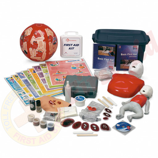 The Simulaids CPR and First Aid Hands-On Education Kit