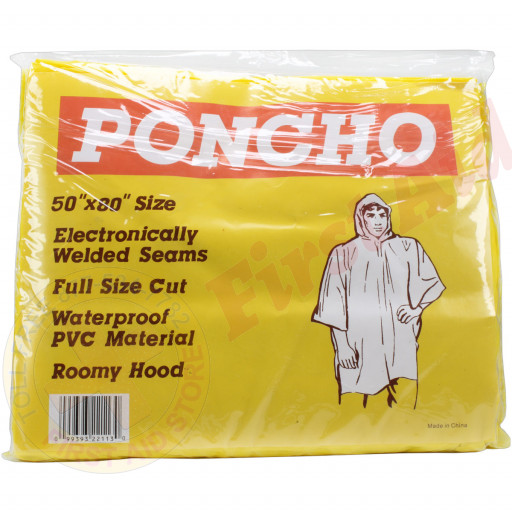 The MayDay Industries Emergency Gear Adult Emergency Poncho Heavy Duty