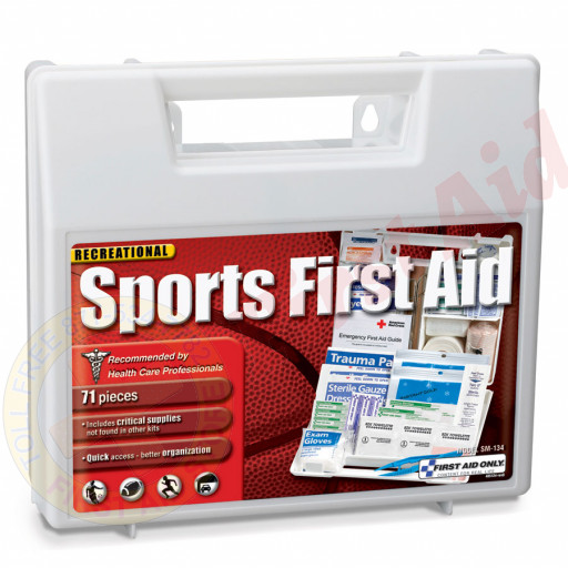 The First Aid Only® 71 Piece Large Personal Sports First Aid Kit