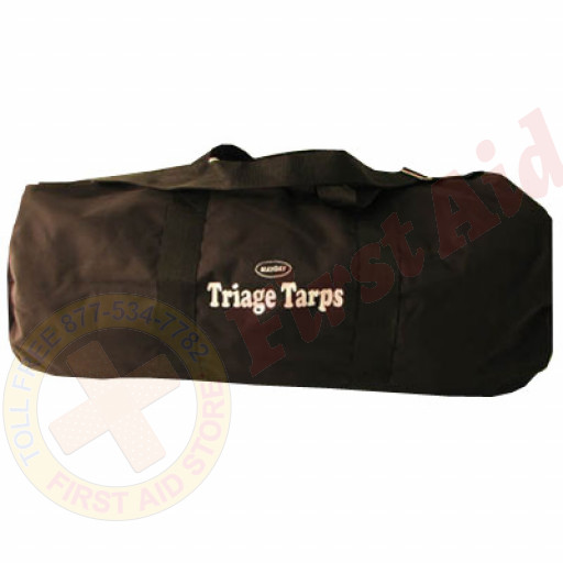 "The MayDay Industries Emergency Gear Large Roll Bag with Strap - 40"" x 19"" x 19"""