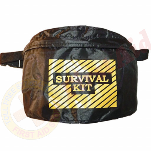 The MayDay Industries Emergency Gear Large Fanny Pack (Black)