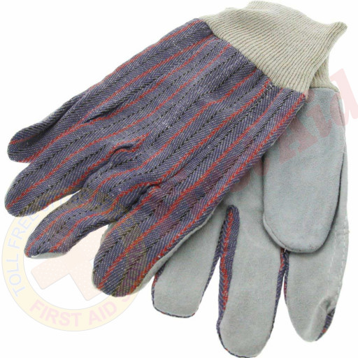The MayDay Industries Emergency Gear Work Gloves Leather Palm