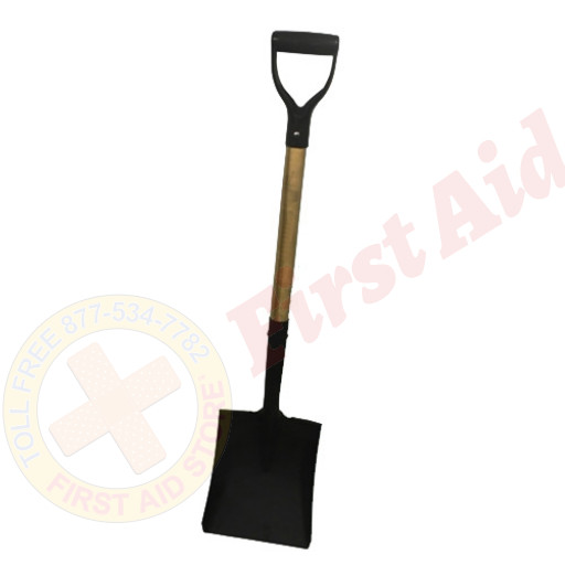The MayDay Industries Emergency Gear Flat or Round Point Shovel (Short)