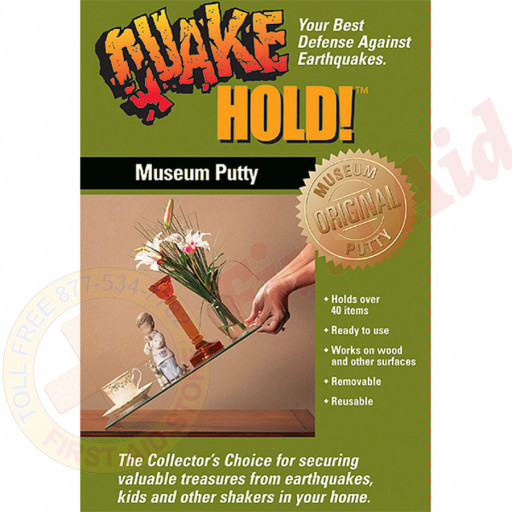 The QuakeHold Brand Museum Putty