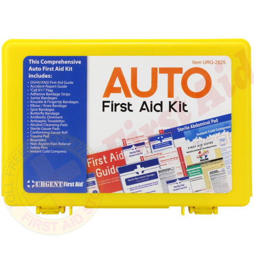 The Urgent First Aid™ Fundraiser Auto First Aid Kit