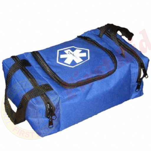 The Urgent First Aid™ Empty First Responder Bag (Jump Bag) - Blue