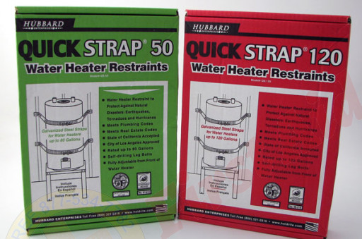 The MayDay Industries Emergency Gear 80 Gallon Hot Water Heater Strap
