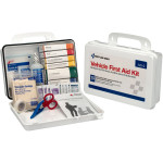 The First Aid Only® Vehicle First Aid Kit - 94 Pieces - Plastic Case w/ Gasket