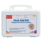 The First Aid Only® 25 Person Bulk First Aid Kit w/ Gasket - Plastic Case