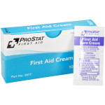 The First Aid Burn Cream, 0.9gm, 10 packets per box