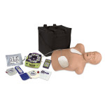 The Simulaids Zoll AED Trainer Package with CPR Brad Mannequin