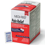 The Medi-First Pain Relief, 500/box
