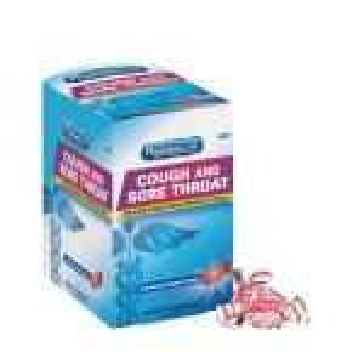 The PhysiciansCare Cherry Cough Drops - 125 Per Box