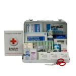 The First Aid Only 25 Person First Aid Kit, ANSI A,  Metal Case