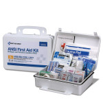 The First Aid Only 25 Person First Aid Kit, ANSI A+, Plastic Case