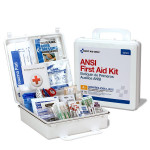 The First Aid Only 50 Person First Aid Kit, ANSI A+, Plastic Case