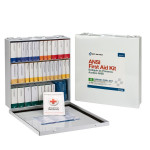 The First Aid Only 54 Unit First Aid Kit, ANSI B,  Metal Case