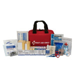 The First Aid Only 50 Person First Aid Kit, ANSI A+, Soft Case