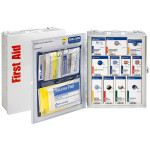 The First Aid Only Medium Metal SmartCompliance Food Service Cabinet, ANSI A