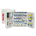 The First Aid Only Large Plastic SmartCompliance Food Service Cabinet, ANSI A+ with Meds