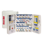 The First Aid Only Large Plastic SmartCompliance Food Service Cabinet, ANSI A+