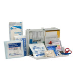The First Aid Only 25 Person Contractor ANSI A+ First Aid Kit, Metal Case