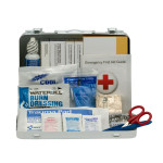 The First Aid Only 25 Person Vehicle ANSI A+ First Aid Kit, Metal Case