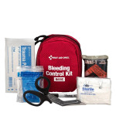 The Bleeding Control Kit - Basic, Fabric Case