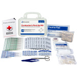 The First Aid Only® Bilingual Contractor's First Aid Kit, 10 Person