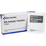 The First Aid Only® Antiseptic Cleansing Wipe (Sting Free) - 10 Per Box