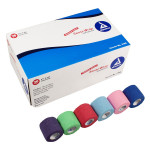 "The Dynarex Sensi Wrap Rainbow - 6 of Each Color - 2"" x 5 yds. - 36 Per Case"