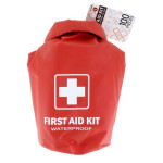 The All Purpose First Aid Kit, Waterproof Dry Sack, Red, 100 Pieces