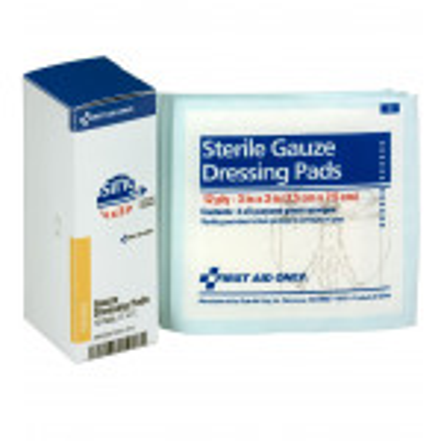"The 3"" X 3"" Sterile Gauze Pads, 10 Per Box - SmartTab EzRefill"