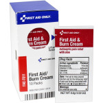 The First Aid Only® First Aid / Burn Cream Packets, 10 Each - SmartTab EzRefill