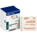 The First Aid Only® Insect Sting Relief Pads, 10 Each - SmartTab EzRefill