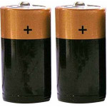 The MayDay Industries Emergency Gear D Size Batteries 1 Pair