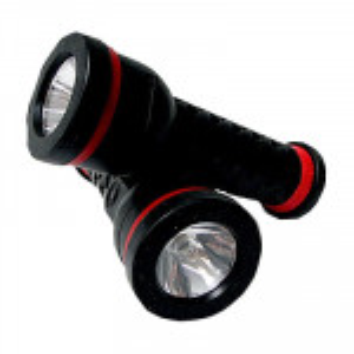 The MayDay Industries Emergency Gear Lumilite Zeon Rubber Heavy Duty Flashlight