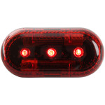 The MayDay Industries Emergency Gear 3-Way Flashing Light  with clip