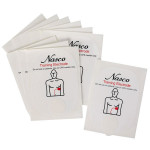 The Life/form® Training Pads for NASCO AED Trainer