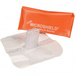 The MDI Microshield Faceshield, Orange Pouch