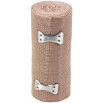 "The First Aid Store™ 4"" x 5 yd Elastic (Ace) Bandage w/ 2 Fasteners - 1 Each"
