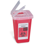 The First Aid Store™ Sharps Container, 1Quart