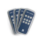 The Prestan™ Professional AED Trainer Remote, 4 Pack