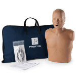 The Prestan™ Adult CPR Mannequin w/o Monitor - Dark Skin