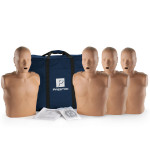 The Prestan™ Adult CPR Mannequin w/o Monitor - 4 Pack - Dark Skin