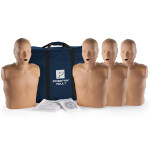 The Prestan™ Adult CPR Mannequin w/ Monitor - 4 Pack - Dark Skin